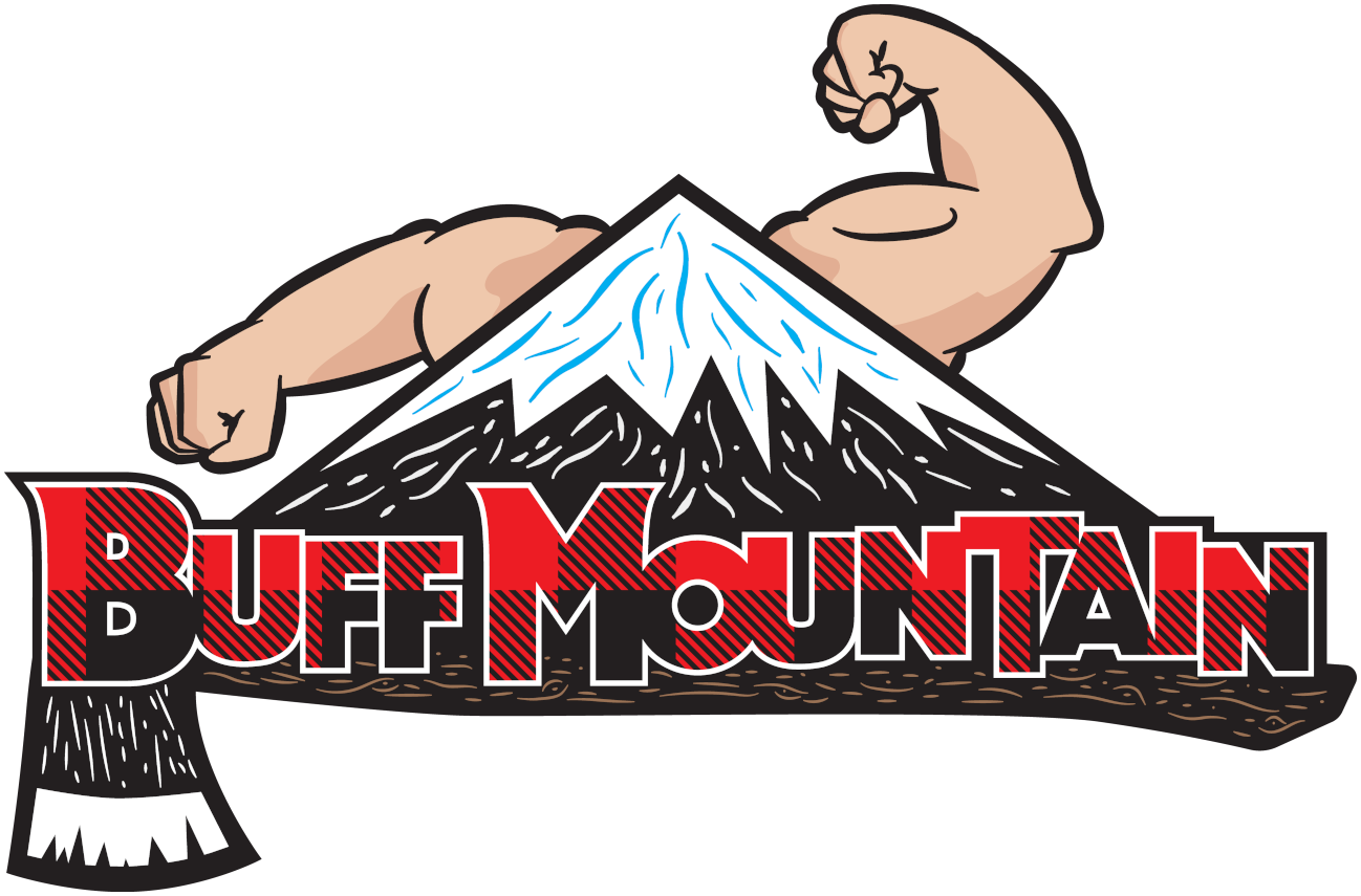 Buff Mountain's Super Buff Logo